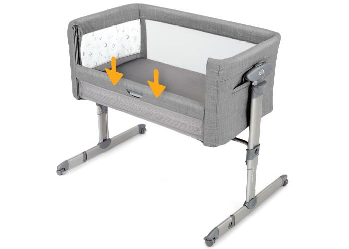 łóżeczko dla dziecka kubbie sleep joie baby